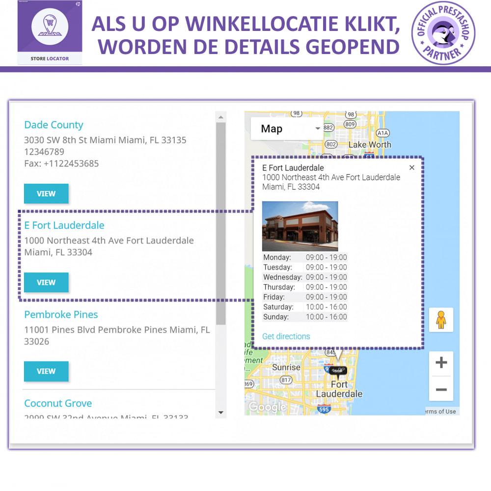 module - Internationaal & Lokalisatie - Winkel Zoeker Met Google Maps - 4