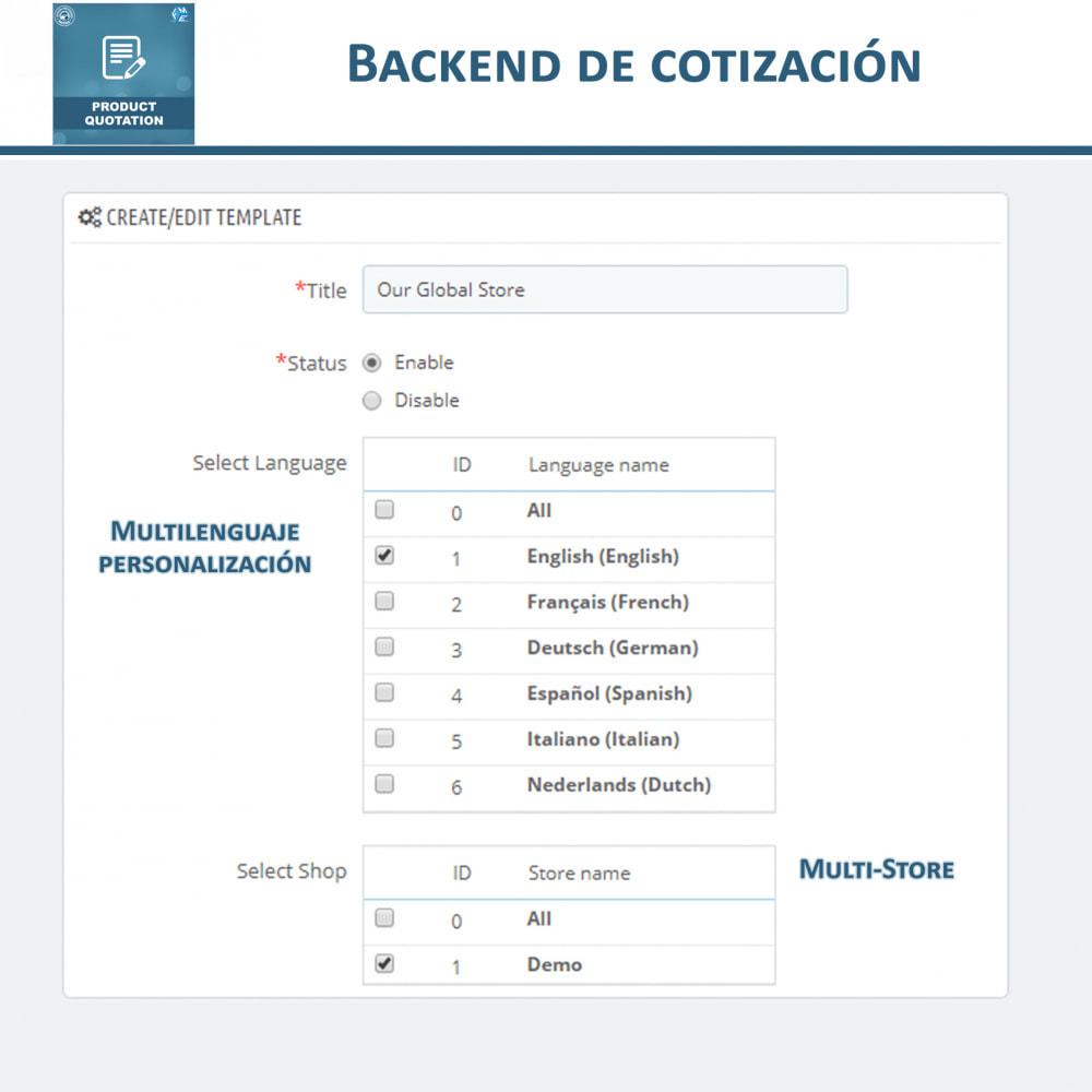 module - Presupuestos - Cotización de Producto - Permitir al Cliente Cotizar - 10
