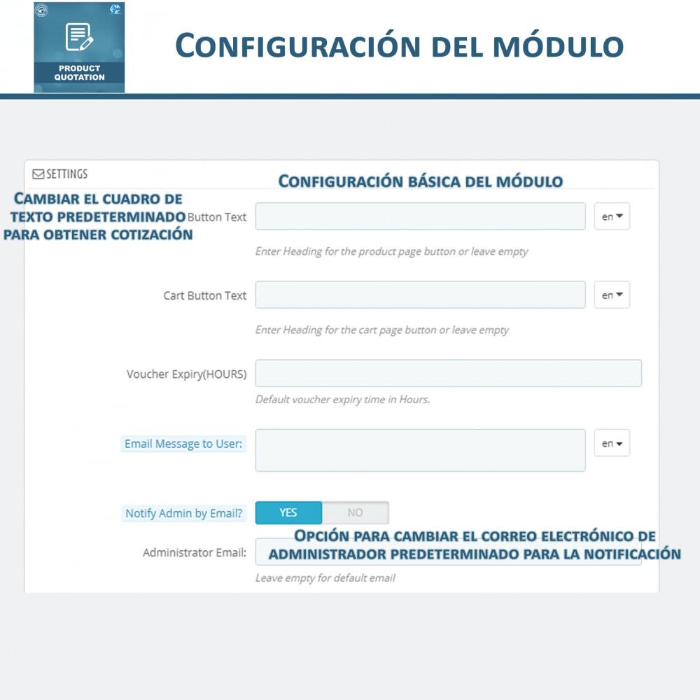 module - Presupuestos - Cotización de Producto - Permitir al Cliente Cotizar - 14