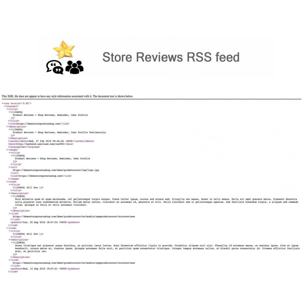 module - Recensioni clienti - Product Reviews+Shop Reviews, Loyalty Program, Reminder - 25