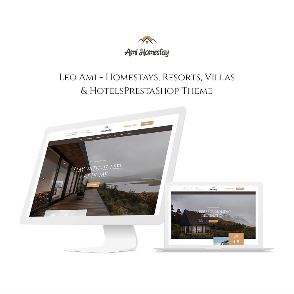 theme - Sport, Loisirs & Voyage - Leo Ami - Booking Service for Villas & Hotels - 1