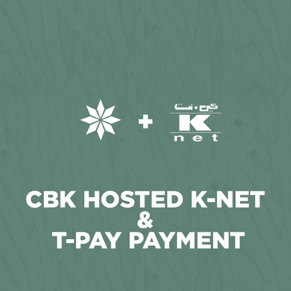 module - Creditcardbetaling of Walletbetaling - CBK Bank Hosted K-NET & T-PAY QR Payment - 1