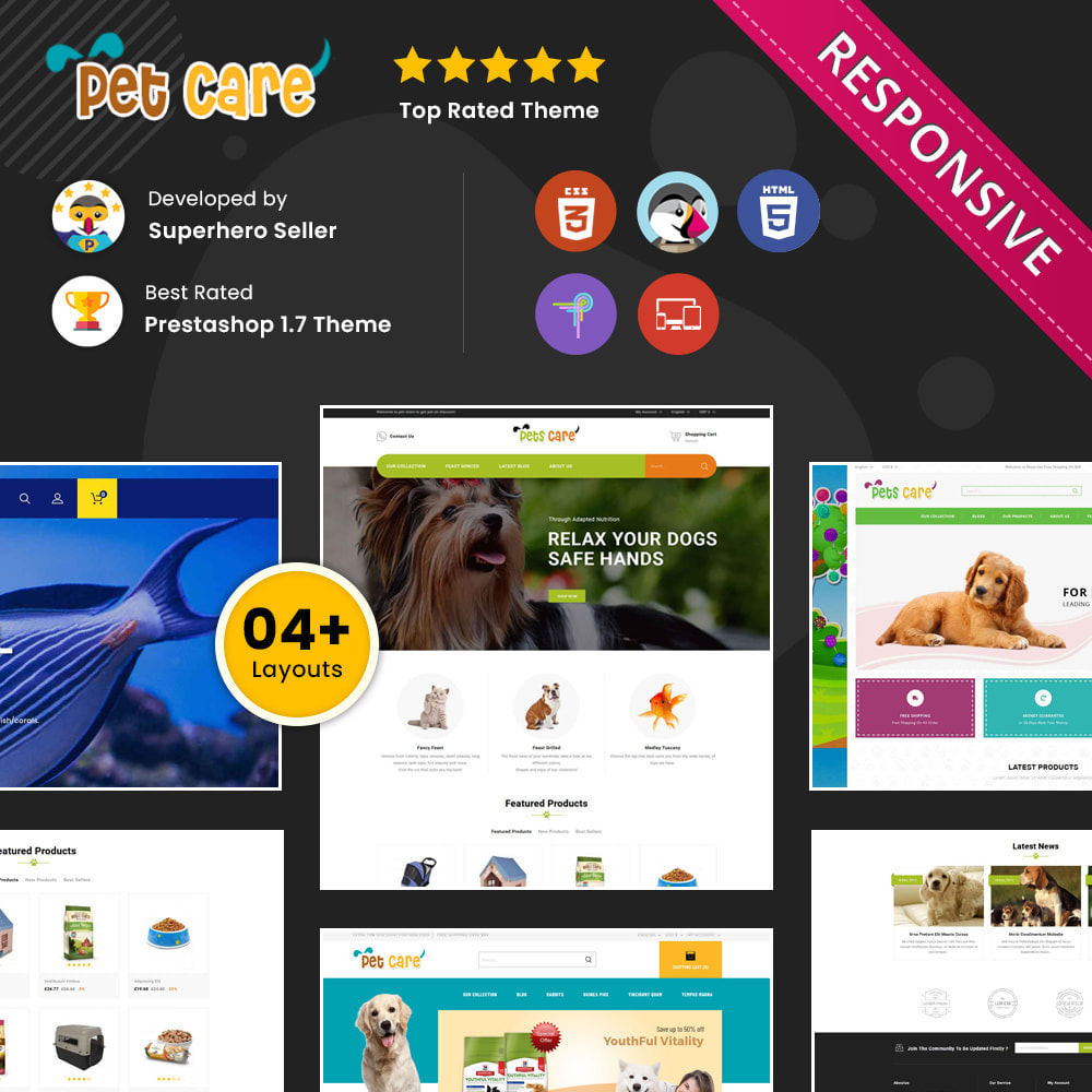 theme - Animaux - The Pet Store - Animaux de compagnie - 1