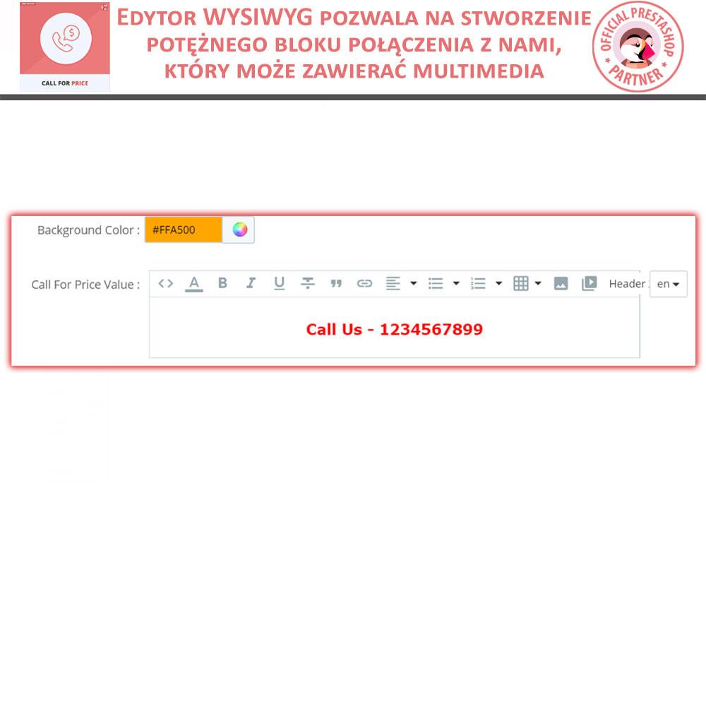 module - Zarządzanie cenami - Zapytaj o Cenę - Ukryj cenę i Dodaj do Koszyka - 4