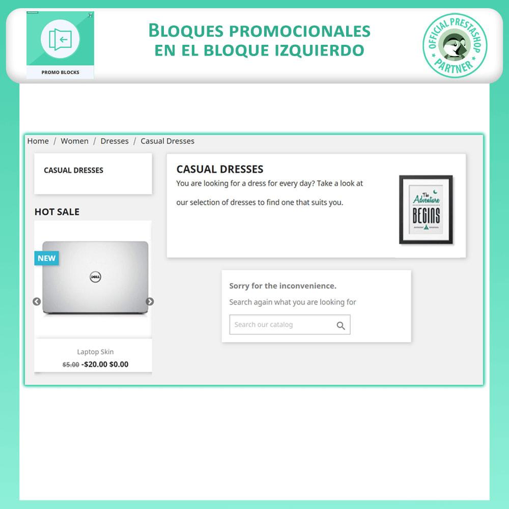 module - Bloques, Pestañas y Banners - Control Deslizante De Producto - 2