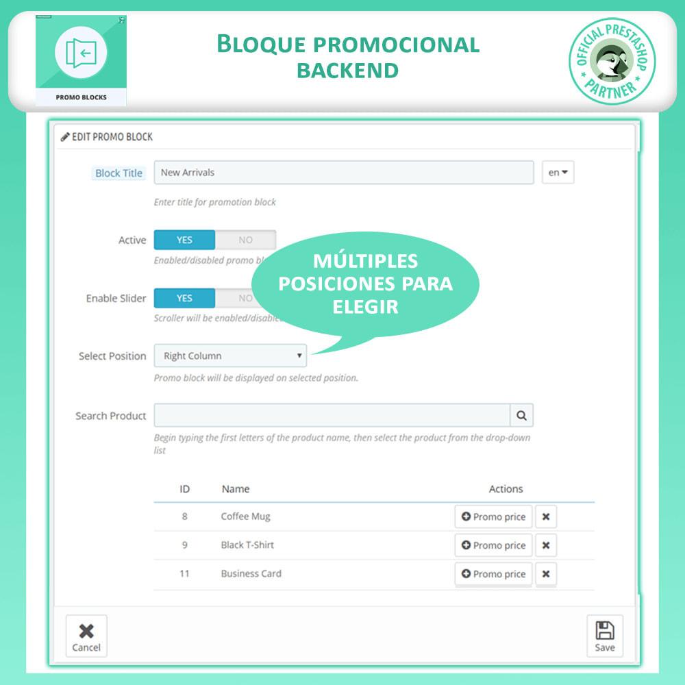 module - Bloques, Pestañas y Banners - Control Deslizante De Producto - 6