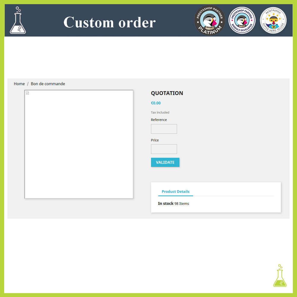 module - Order Management - Custom order - 7