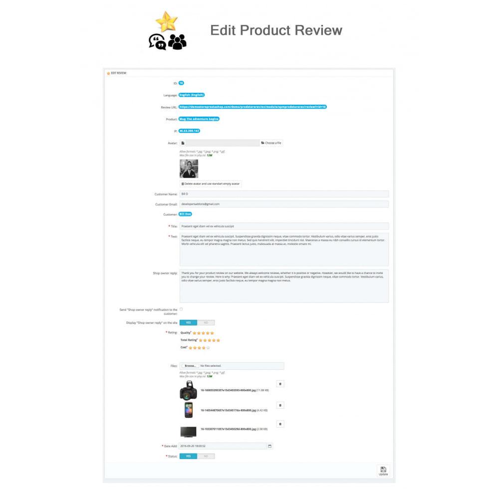 module - Avis clients - Avis sur les produits + Boutique, Programmes fidélité - 29