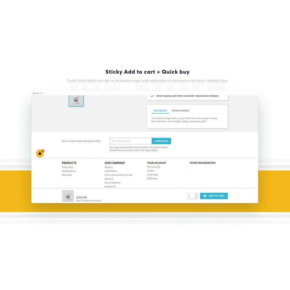 module - Processo de pedido - Sticky Cart ‑ Easy Add‑to‑cart - 5