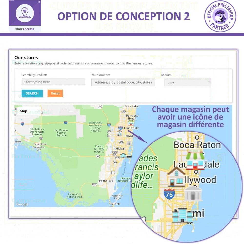module - International & Localisation - Localisateur de magasin avec Google Maps - 3