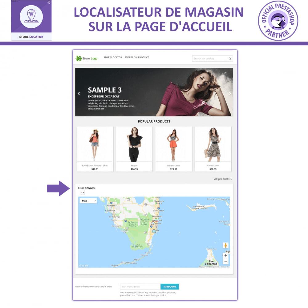 module - International & Localisation - Localisateur de magasin avec Google Maps - 7