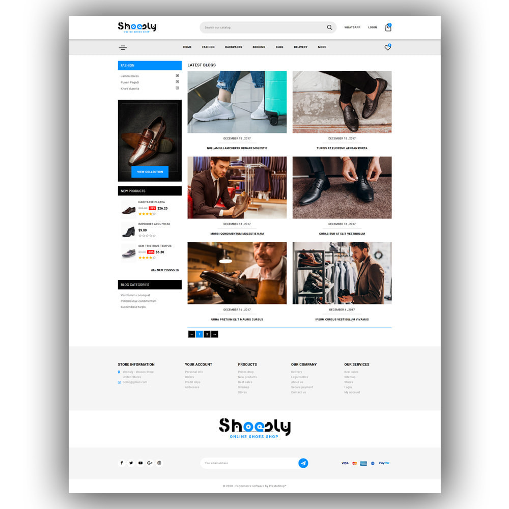 theme - Fashion & Shoes - Shoosly - Shoes Store - 7
