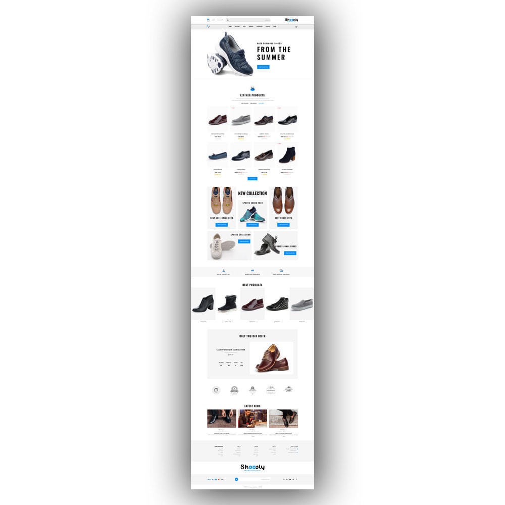 theme - Fashion & Shoes - Shoosly - Shoes Store - 8
