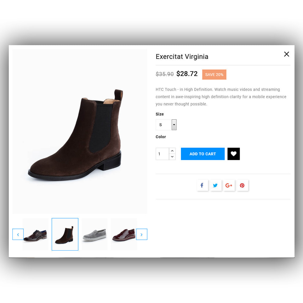 theme - Fashion & Shoes - Shoosly - Shoes Store - 9