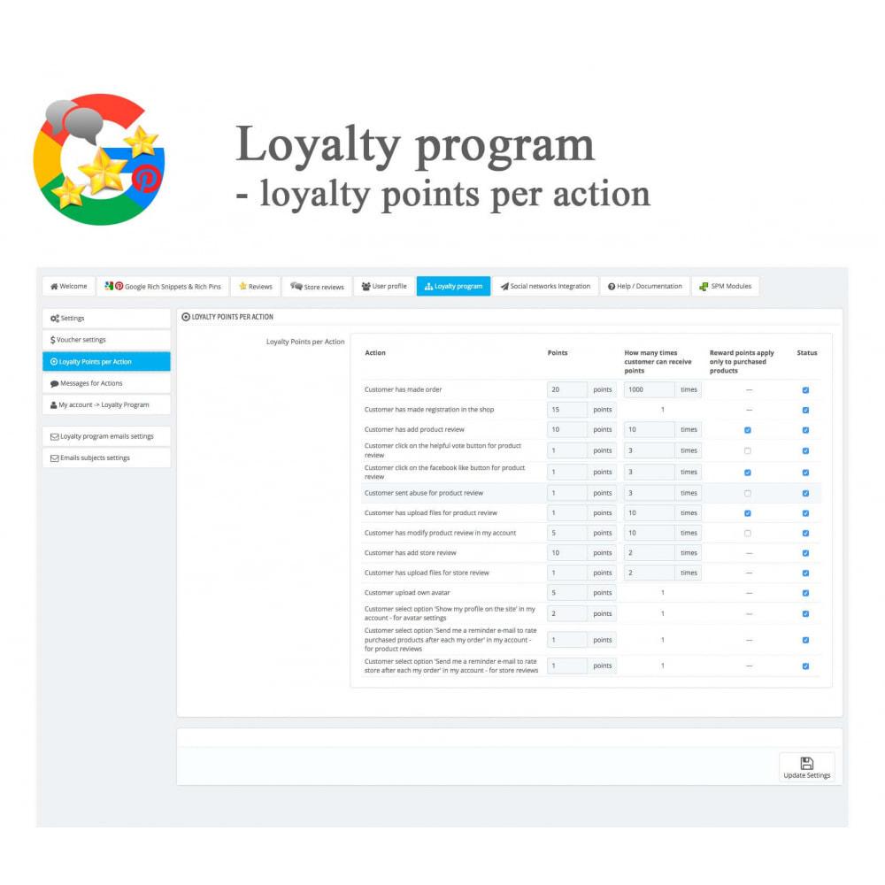 module - Avis clients - Produit+Boutique Avis, Points fidélité, Google Snippets - 54