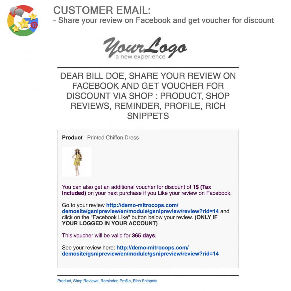module - Avis clients - Produit+Boutique Avis, Points fidélité, Google Snippets - 59