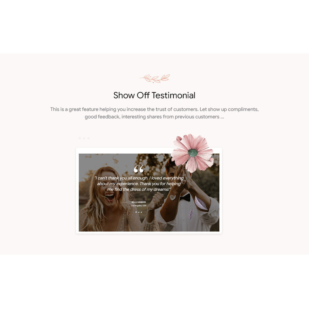 theme - Mode & Chaussures - Leo Bridey – Wedding Dress & Bridal Gown - 6