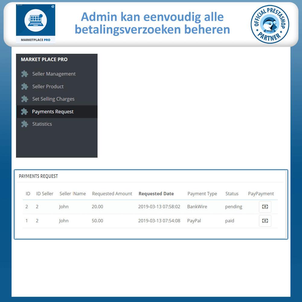module - Marktplaats opzetten - Multi Vendor Marketplace  - Marketplace Pro - 25