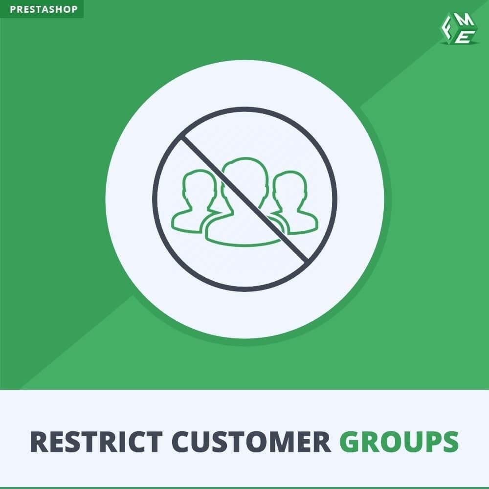 module - Zusatzinformationen & Produkt-Tabs - Katalog & CMS-Seiten nach Kundengruppen beschränken - 1