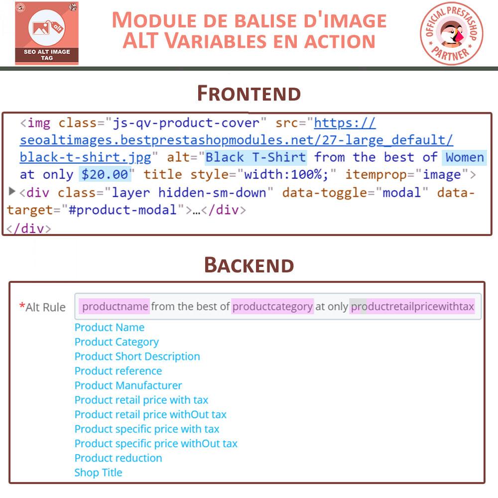 module - SEO (référencement naturel) - SEO Alt Image Tags - 3