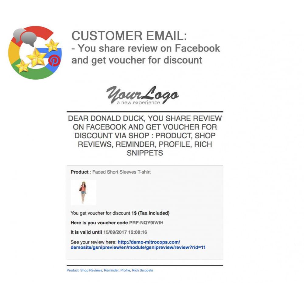 module - Avis clients - Produit+Boutique Avis, Points fidélité, Google Snippets - 61