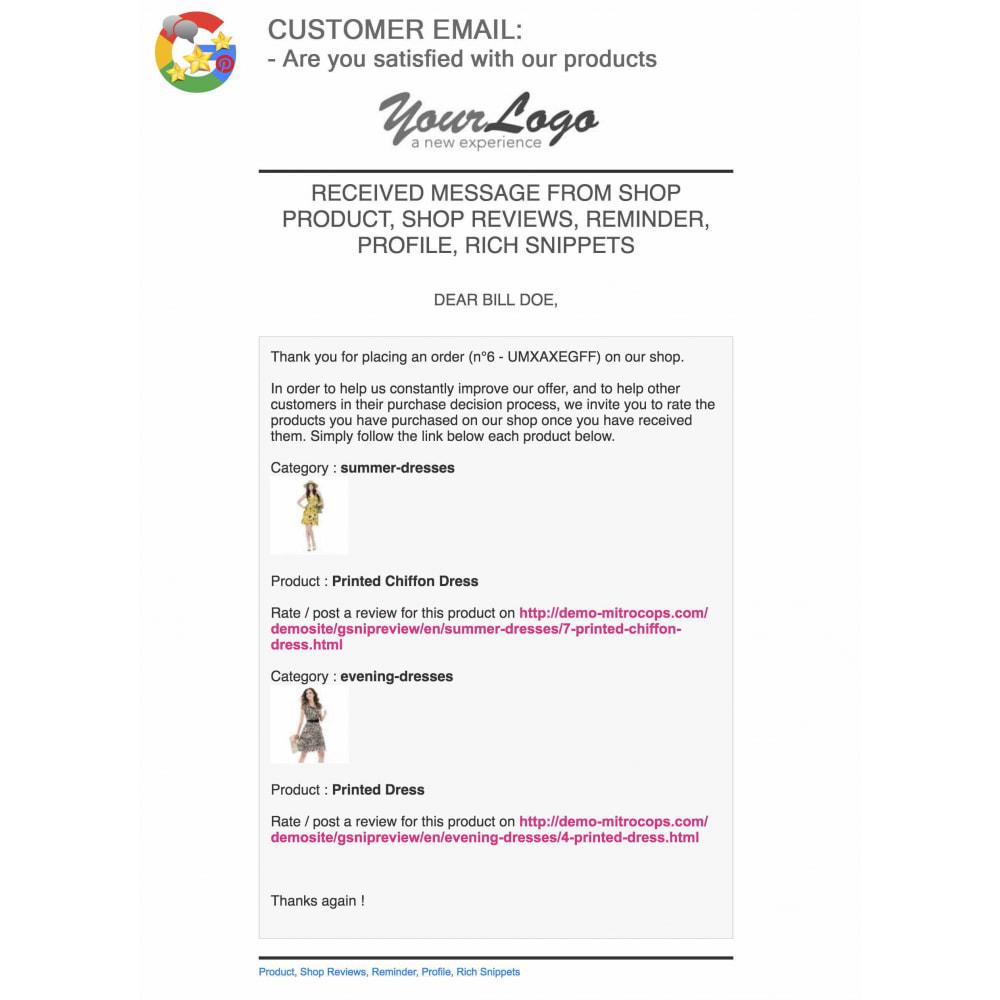 module - Avis clients - Produit+Boutique Avis, Points fidélité, Google Snippets - 66