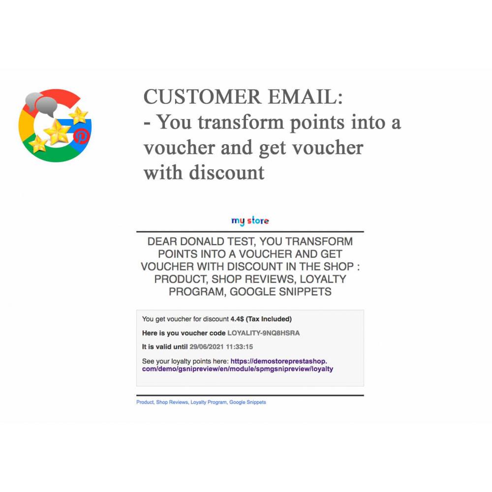 module - Avis clients - Produit+Boutique Avis, Points fidélité, Google Snippets - 71