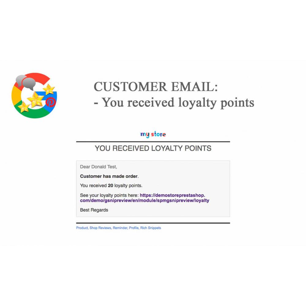module - Avis clients - Produit+Boutique Avis, Points fidélité, Google Snippets - 72