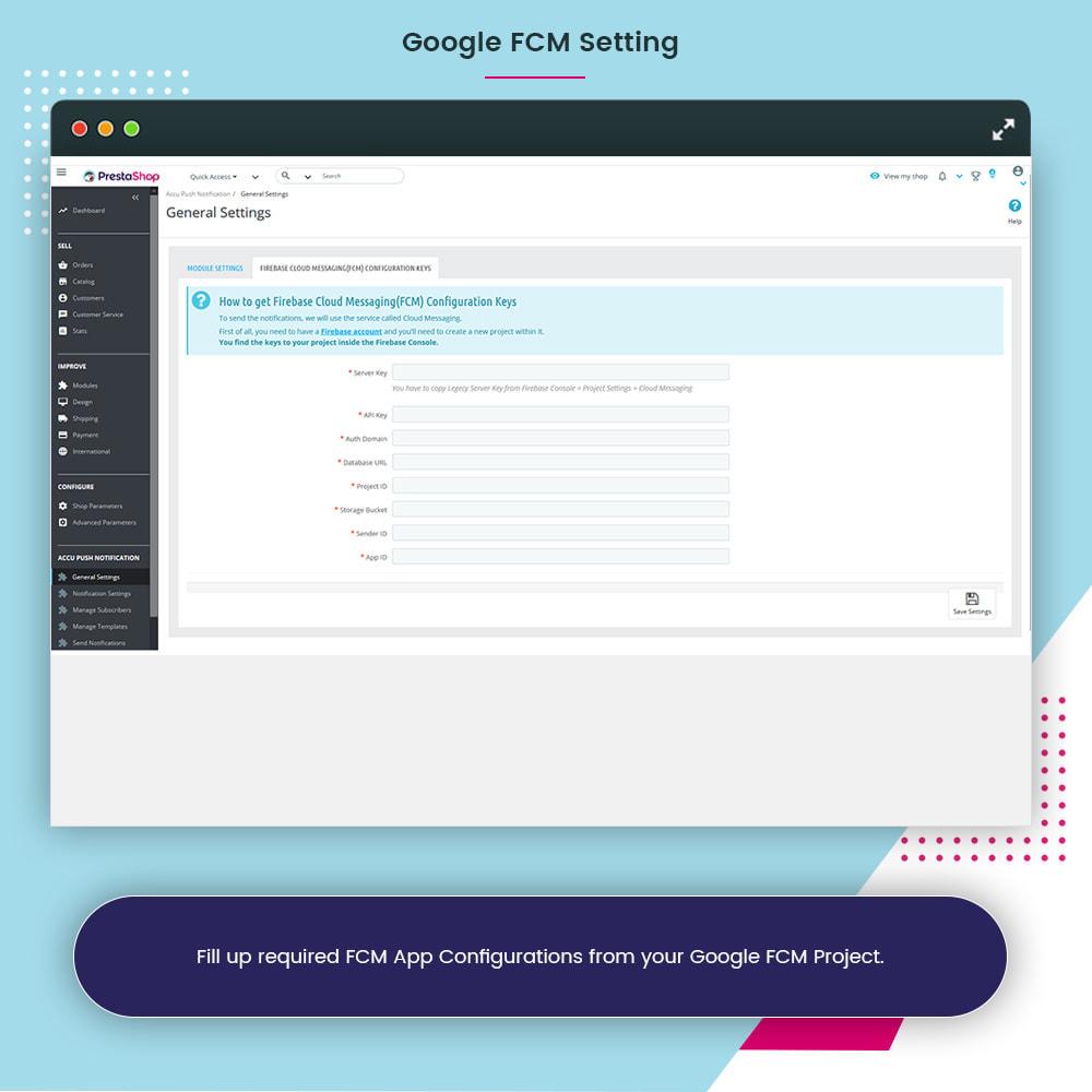 module - Email & Notifiche - Accu Smart Web Push Notification - 7