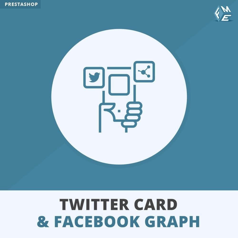 module - Social Widget - Twitter Card e Social Media Graph - 1