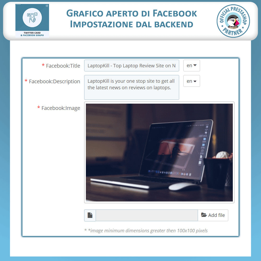 module - Social Widget - Twitter Card e Social Media Graph - 4
