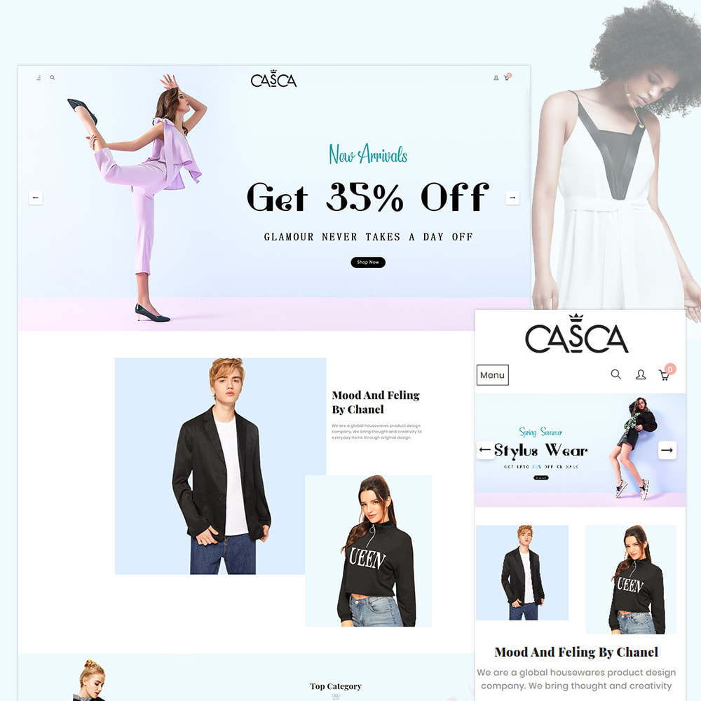 theme - Moda & Obuwie - Casca Band Fashion Store - 1