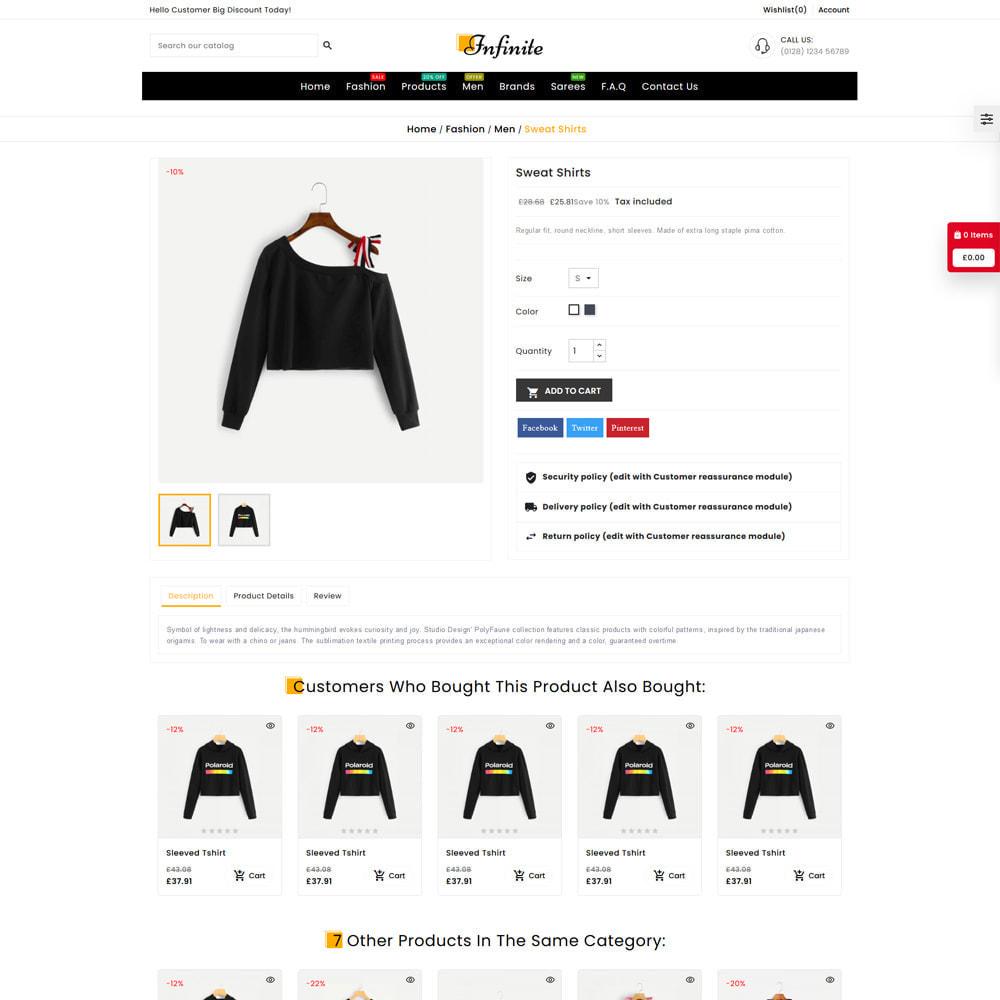 theme - Fashion & Shoes - Infinite Fashion Store - 5