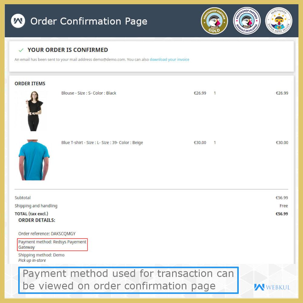 module - Płatność kartą lub Płatność Wallet - Redsys Payment Gateway - 6