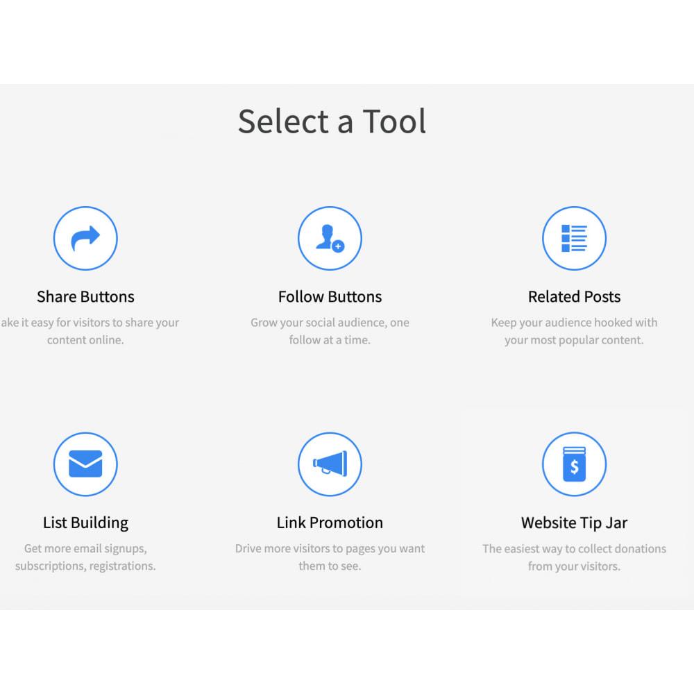 module - Widgets sozialer Netzwerke - Advanced Social Media Share Side Bar Links Buttons - 3