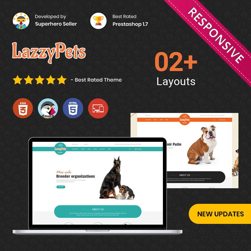 theme - Animales y Mascotas - lazzypets - la tienda de animales - 1