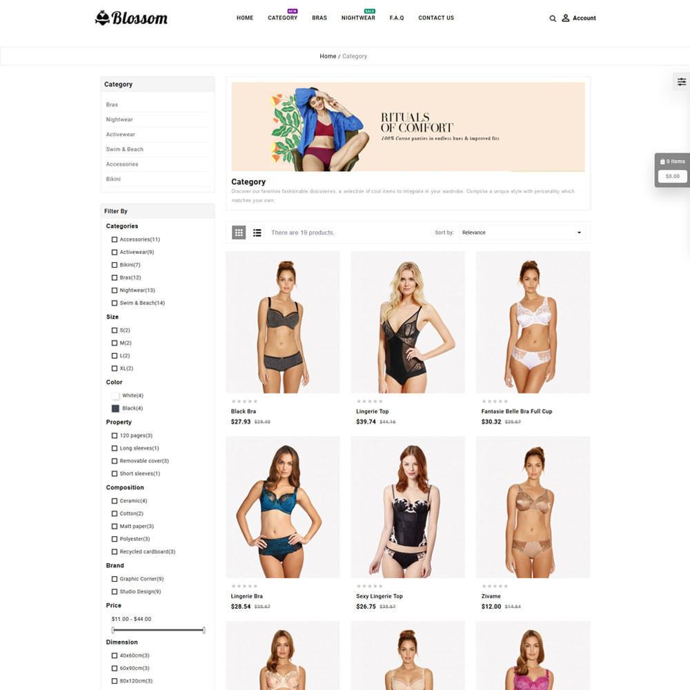 theme - Lenceria y Adultos - Blossom Lingerie Store - 3