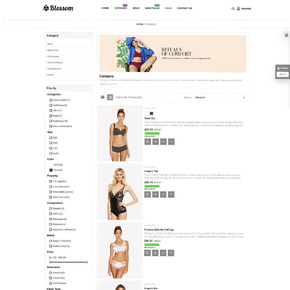 theme - Lenceria y Adultos - Blossom Lingerie Store - 4