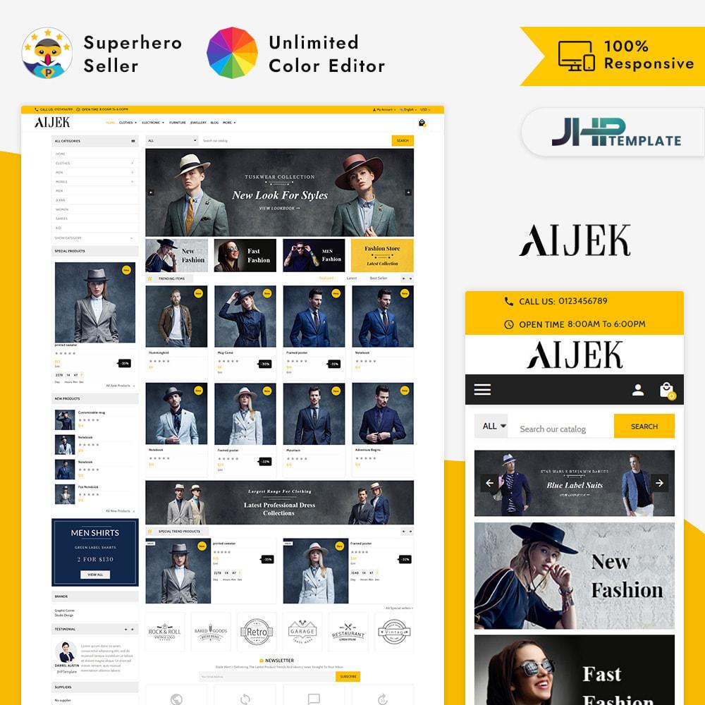 theme - Moda & Calzature - Aijek - Fashion Mega Shop - 1