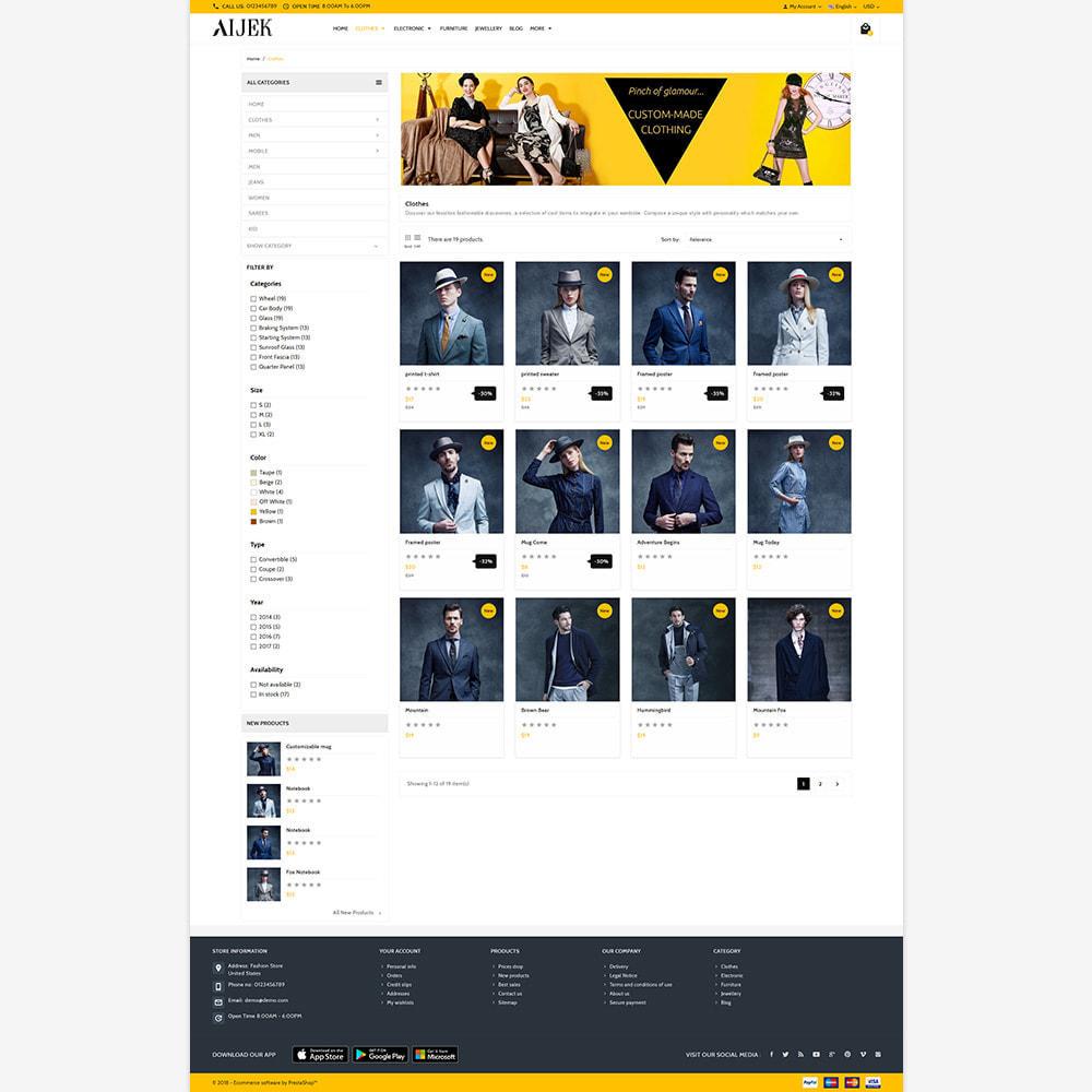 theme - Moda & Calzature - Aijek - Fashion Mega Shop - 3
