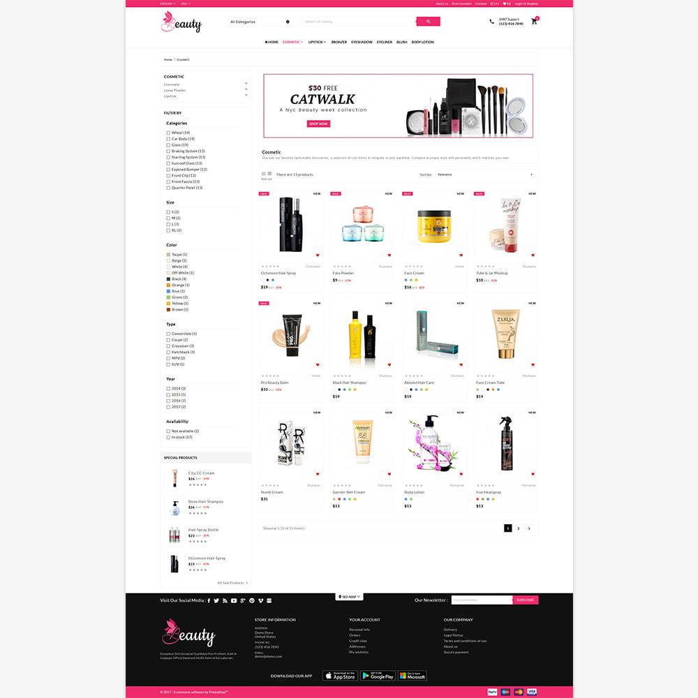theme - Saúde & Beleza - Mega Mall - The Beauty Shop - 3