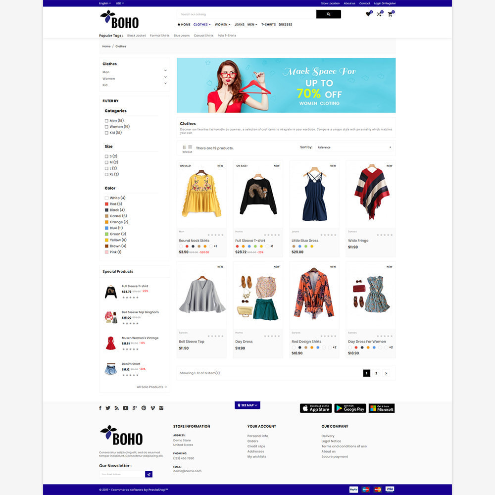 theme - Mode & Schuhe - Style Fashion - Fashion Mega Shop - 3