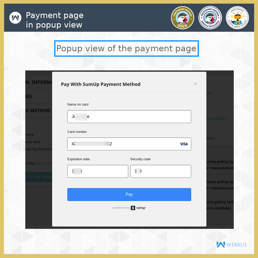 module - Payment by Card or Wallet - SumUp Payment Gateway - 7