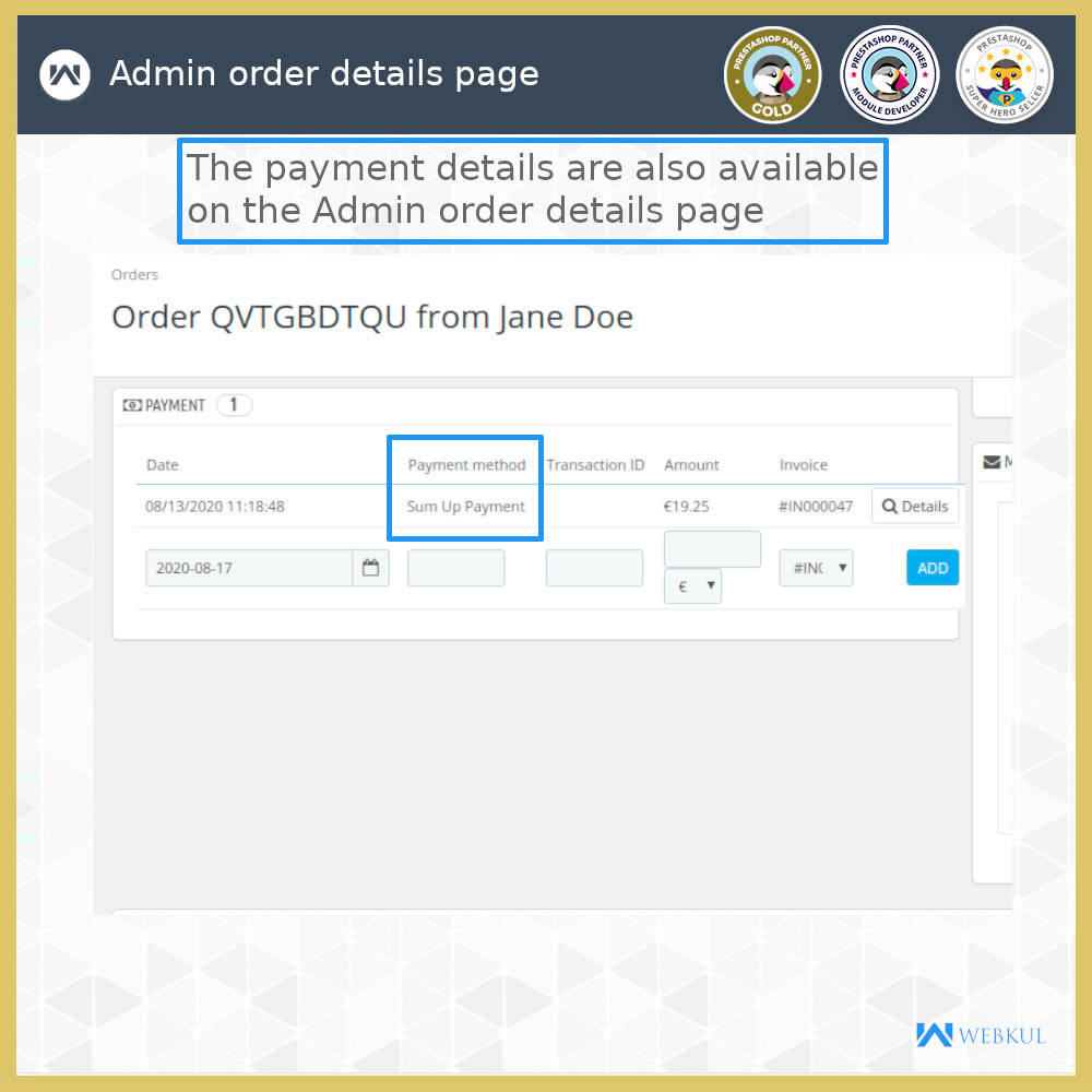module - Payment by Card or Wallet - SumUp Payment Gateway - 11