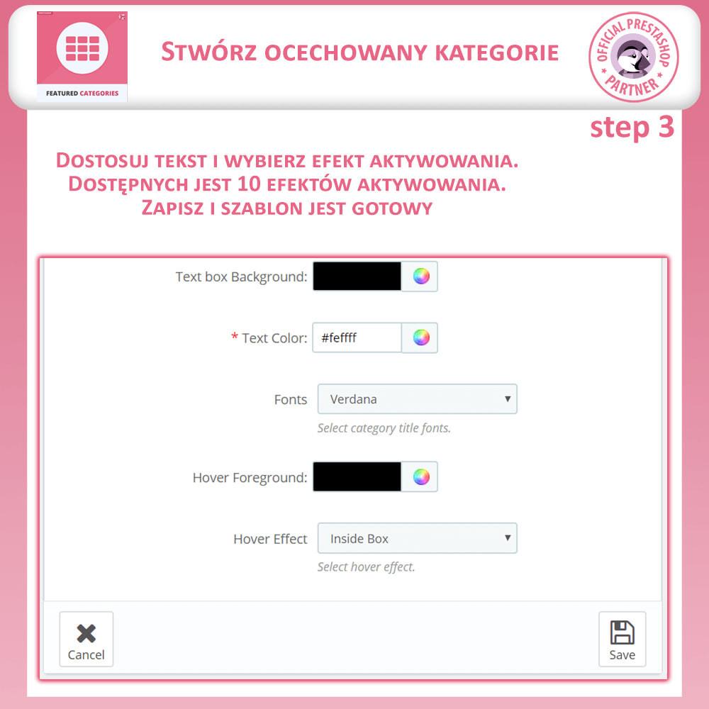 module - Personalizacja strony - Ocechowany Kategorie - 11