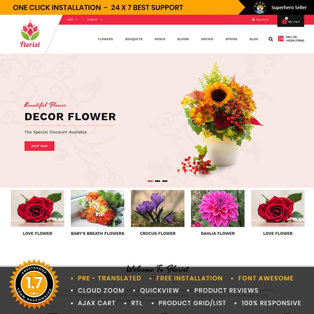 theme - Cadeaux, Fleurs et Fêtes - Florist Flowers & Gifts Store - 1