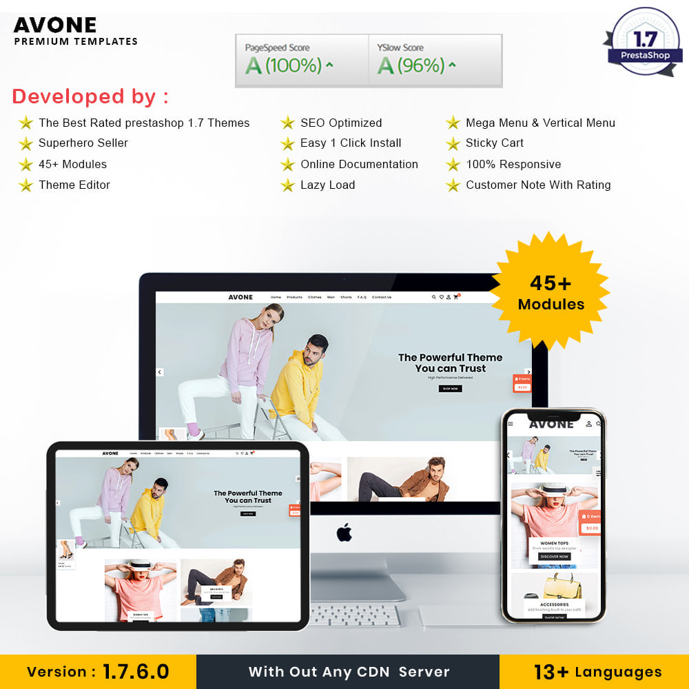 theme - Fashion & Shoes - Avone Fashion Store - 1