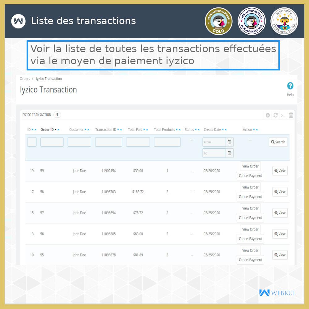 module - Paiement par Carte ou Wallet - Passerelle de paiement Iyzico - 6