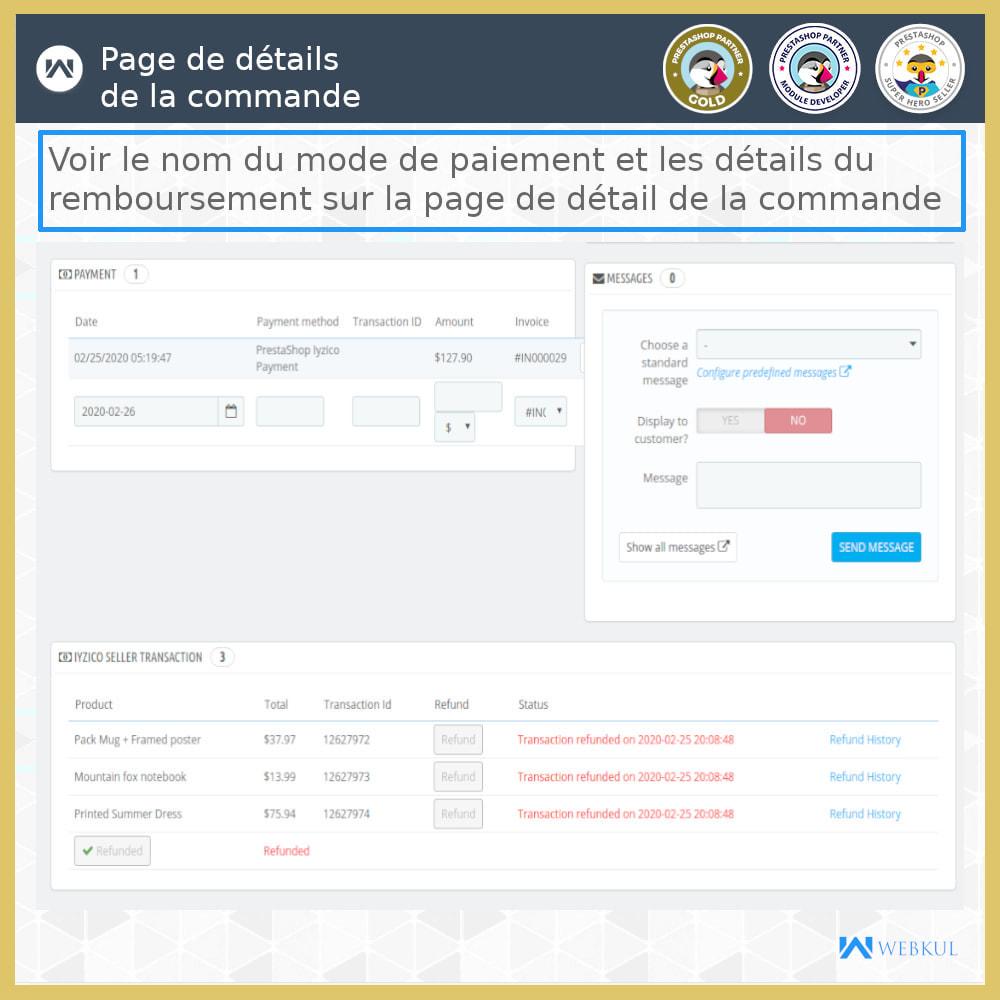 module - Paiement par Carte ou Wallet - Passerelle de paiement Iyzico - 9
