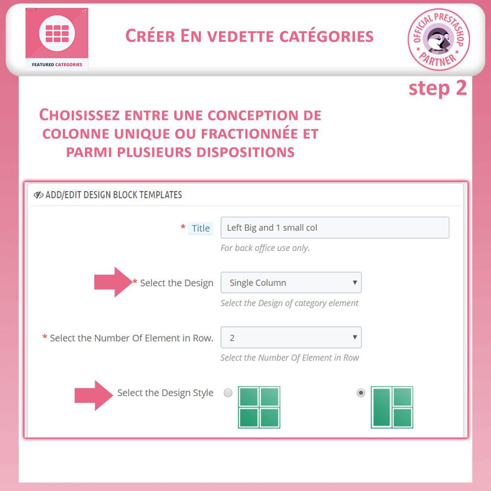 module - Personnalisation de Page - Catégories Vedettes - 10